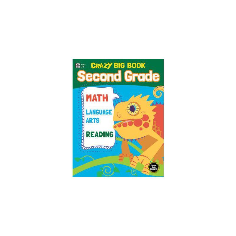 【预订】Crazy Big Book, Grade 2 预订商品,需要1-3个月发货,非质量问题不接受退换货。