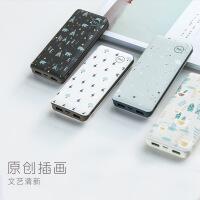 20000毫安充电宝可爱苹果X卡通移动电源7/8plus华为oppo通用