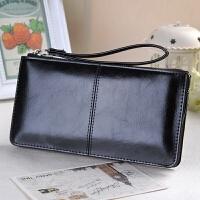 新款女士钱包女长款韩版拉链钱夹手拿手提大容量可放手机女零钱包