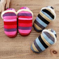 儿童居家棉拖鞋室内男童女童软底防滑拖鞋宝宝小孩包跟保暖棉鞋