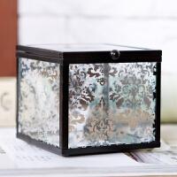 创意摆件卧室房间装饰品居家摆设欧式复古收纳盒装饰盒子