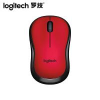 罗技(Logitech)M220 无线静音鼠标 红色