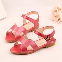 女童凉鞋夏季儿童沙滩鞋甜美平底公主鞋小童宝宝