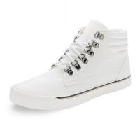 新品新款男鞋男式休闲鞋男士高帮鞋男士帆布鞋