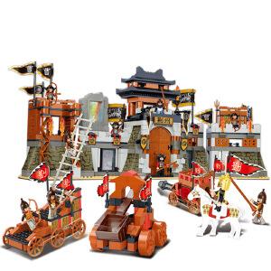【当当自营】小鲁班三国系列儿童益智拼装积木玩具 智取荆囊M38-B0267