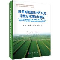 畦田施肥灌溉地表水流溶质运动理论与模拟