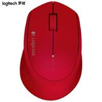 罗技(Logitech)M280 无线光电鼠标 红色