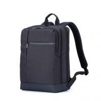 小米经典商务双肩包男士背包多功能电脑包出旅行休闲防水学生书包 商务双肩包-黑色