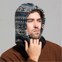 男士帽子户外帽男女士骑行帽雷锋帽男保暖护耳帽骑车帽厚