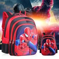 3D蜘蛛侠书包小学生男童双肩包1男孩一年级6-12周岁幼儿园5岁