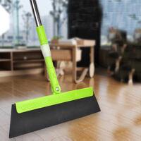 普润 多功能神奇魔法扫把魔术扫帚 刮水器地刮扫 伸缩杆大头款颜色*