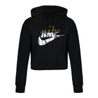 Nike耐克2018年新款女子AS W NSW RALLY HOODIE MTALC套头衫AJ0097-010