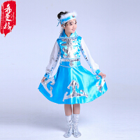 新款蒙古服装女少数民族蒙古族服饰广场舞表演服舞蹈服装草原裙袍
