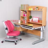 多功能实木学习桌可升降学生榉木书桌电脑桌家用写字台