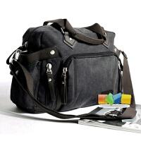 帆布包斜挎包潮包单肩包斜跨包旅行包手提包男包包时尚书包休闲包