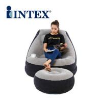 INTEX懒人沙发 折叠沙发 单人椅创意成人沙发阳台飘窗榻榻米躺椅 沙发