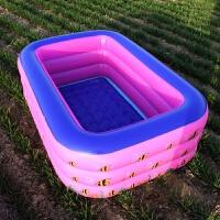 儿童气垫游泳池 家用新款充气儿童洗澡池婴儿游泳池海洋球玩具池子充气浴盆气垫池 CX