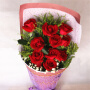 馨情欣恋鲜花速递 生日礼品鲜花节日鲜花 11支红玫瑰 送爱人闺蜜 北京上海武汉全国同城花店送花