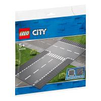 【当当自营】LEGO乐高积木城市组City系列60236 5岁+直道与丁字路口
