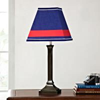欧美时尚复古儿童房床头灯样板房家居装饰品创意欧式台灯照明灯饰