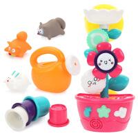 戏水转转乐宝宝婴儿女孩男孩小孩儿童花洒洗澡玩具套装