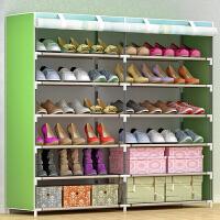 索尔诺简易鞋架 多层家用收纳鞋柜布艺简约现代经济型防尘鞋架子0606-1CH