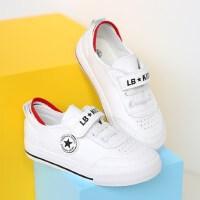 女童白鞋运动鞋男童户外潮新款韩版百搭中大童休闲鞋