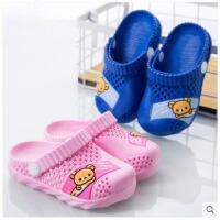 儿童凉拖鞋男童防滑沙滩鞋女童洞洞鞋宝宝鞋婴儿软底拖鞋