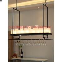 美式吧台吊灯餐厅灯创意酒吧装饰个性蜡烛台酒杯简约现代餐桌饭厅