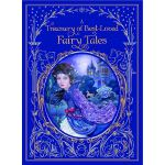 A Treasury of Best Loved Fairy Tales (Barnes & Noble Leathe