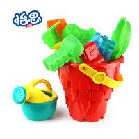 夏天沙滩玩具套装沙漏查铲子车桶塑料儿童大小号.3