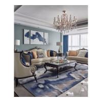 欧式真皮沙发组合新古典实木沙发简欧轻奢沙发小户型客厅家具 其他