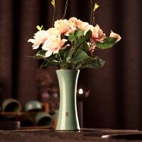 家居装饰品摆件小清新创意简约花瓶陶瓷插花花瓶客厅餐桌摆件花器