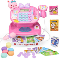 儿童超市过家家收银机玩具套装可扫描刷卡多功能收银台玩具男女孩