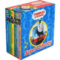 托马斯和他的朋友们 Thomas and Friends英文原版 纸板书6册盒装
