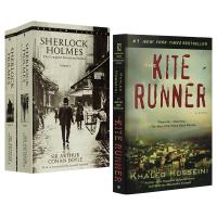 追风筝的人The Kite Runner+福尔摩斯探案全集英文版 Sherlock Holmes 英文原版小说 2册全
