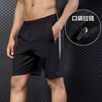 运动短裤男宽松速干跑步裤休闲五分裤子训练健身短裤