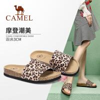 骆驼女鞋2019新款夏季平底凉拖女网红凉鞋女外穿时尚百搭��拖鞋女