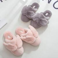 棉拖鞋女冬季室内居家少女卡通可爱公主防滑家用时尚厚底