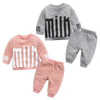婴儿童套装衣服0岁6个月冬季休闲春装新生儿宝宝两件外出服