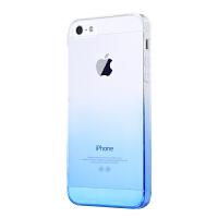Q果 苹果5S手机壳iPhone5S手机套硅胶透明5防摔新款SE保护套软壳