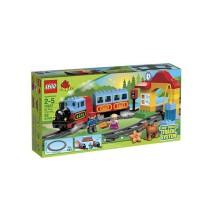 乐高拼插积木 LEGO 火车入门套装 L10507 早教 积木玩具2岁+