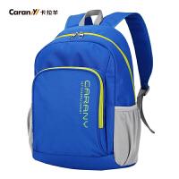 卡拉羊双肩包运动休闲男女小书包潮流韩版小双肩包旅行背包CX5696/CX5697
