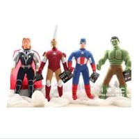 全店满99包邮!iron man钢铁侠3毛绒玩具绿巨人公仔玩偶美国队长复仇者联盟