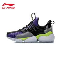 李宁CF系列休闲鞋男鞋2020新款凝聚耐磨时尚男士低帮运动鞋AGLP185