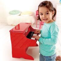 Hape18键钢琴3岁以上益智音律婴幼玩具音乐玩具E0318