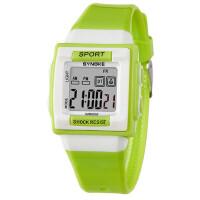 电子表防水夜光卡通方形男孩女孩手表 男童学生儿童手表