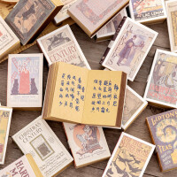 创意迷你火柴盒便签本可撕复古随身本口袋本学生便携式记事小本子