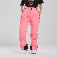 单板滑雪服女套装韩国冬季加厚保暖背带裤防水防风户外双板滑雪衣新品