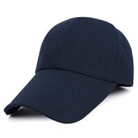 帽子男士秋冬户外保暖纯色棒球帽韩版潮运动钓鱼防晒鸭舌帽